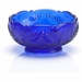 Mosser Glass Thistle Bowl - Cobalt Blue
