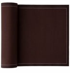 MyDrap Cotton Luncheon Napkin - 25 /roll - Chocolate Brown