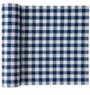 MyDrap Cotton Placemat 12 /roll - Blue Gingham