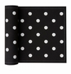 MyDrap Cotton Printed Luncheon Napkin - 20 /roll - Black Dots
