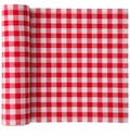 MyDrap Gingham Napkin 20 /roll - Red