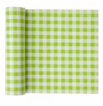 MyDrap Gingham Placemat 12 /roll - Pistachio Gingham