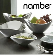 Nambe' Metal, Crystal & Porcelain Table Accessories