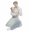 "Nao by Lladro Porcelain ""A Father's Love"" Figurine"
