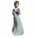 Nao by Lladro Porcelain A Gift From The Heart Special Edition Figurine