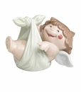 """Nao by Lladro Porcelain """"A new arrival"""" Figurine"""