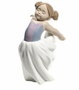 "Nao by Lladro Porcelain ""About to go on stage"" Figurine"