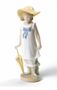 Nao by Lladro Porcelain April Showers Figurine (Special Edition)