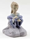 "Nao by Lladro Porcelain ""As pretty as mom"" Figurine"