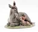 "Nao by Lladro Porcelain ""Bambi"" Figurine"