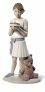 Nao by Lladro Porcelain Birthday Girl Figurine