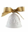"Nao by Lladro Porcelain ""Christmas ribbons bell"" Figurine"