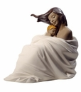 "Nao by Lladro Porcelain ""Cozy slumber"" Figurine"