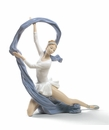 Nao by Lladro Porcelain Dancer with veil Figurine (Special Edition)