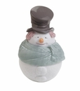 "Nao by Lladro Porcelain ""Deco snowman (box)"" Figurine"