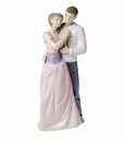 "Nao by Lladro Porcelain ""Dreams of love"" Figurine"