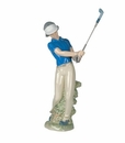 """Nao by Lladro Porcelain """"Fore!"""" Figurine"""