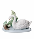 "Nao by Lladro Porcelain ""Friends In the lake"" Figurine"