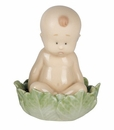 Nao by Lladro Porcelain From A Cabbage? Figurine
