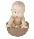 Nao by Lladro Porcelain From a Nut Baby Figurine