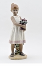 "Nao by Lladro Porcelain ""From My Little Garden"" Figurine"