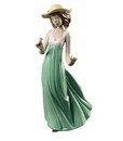 Nao by Lladro Porcelain Gentle Breeze (Special Edition) Figurine