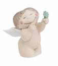 "Nao by Lladro Porcelain ""Good luck"" Figurine"