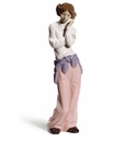 """Nao by Lladro Porcelain """"Having a chat!"""" Figurine"""