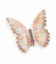 "Nao by Lladro Porcelain ""Hazy Sunshine"" Butterfly Figurine"