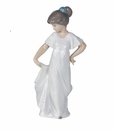 "Nao by Lladro Porcelain ""How pretty!"" Figurine"