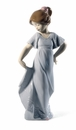 Nao by Lladro Porcelain How pretty! Figurine (Special Edition)