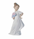 "Nao by Lladro Porcelain ""I am pretty!"" Figurine"