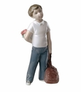 """Nao by Lladro Porcelain """"I thought of you"""" Figurine"""