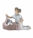 "Nao by Lladro Porcelain ""It's time to sleep"" Figurine"
