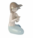"Nao by Lladro Porcelain ""Jewel of the sea"" Figurine"
