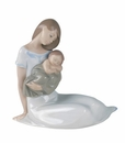 "Nao by Lladro Porcelain ""Light of my days"" Figurine"