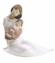 Nao by Lladro Porcelain Light Of My Days Girl Figurine