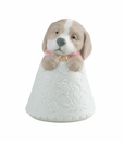 "Nao by Lladro Porcelain ""Little puppy (pink)"" Figurine"