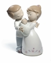 Nao by Lladro Porcelain Love is�our little baby Figurine