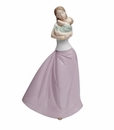 "Nao by Lladro Porcelain ""Loving Lullaby"" Figurine"