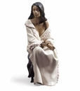 Nao by Lladro Porcelain Morning Repose Figurine