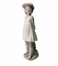 "Nao by Lladro Porcelain ""My favorite book"" Figurine"