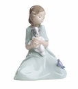"Nao by Lladro Porcelain ""My little companions"" Figurine"