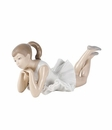 """Nao by Lladro Porcelain """"Pensive ballet"""" Figurine"""