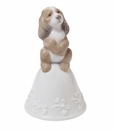"Nao by Lladro Porcelain ""Puppy melodies"" Figurine"