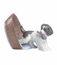 "Nao by Lladro Porcelain ""Puppy Playtime"" Figurine"