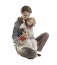"Nao by Lladro Porcelain ""Read me a story"" Figurine"