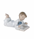 "Nao by Lladro Porcelain ""Repeat after me"" Figurine"