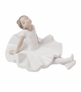 "Nao by Lladro Porcelain ""Resting pose"" Figurine"