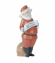 "Nao by Lladro Porcelain ""Santa's best wishes"" Figurine"